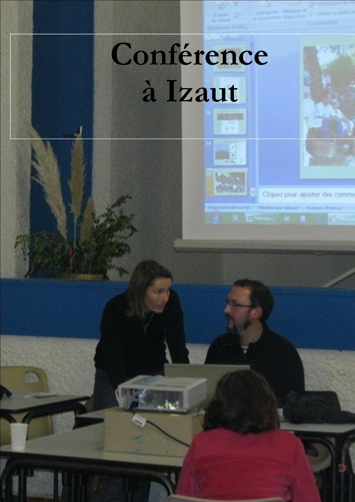 2012 Novembre : Conférence et Exposition : présentation des résultats la prospection 2012