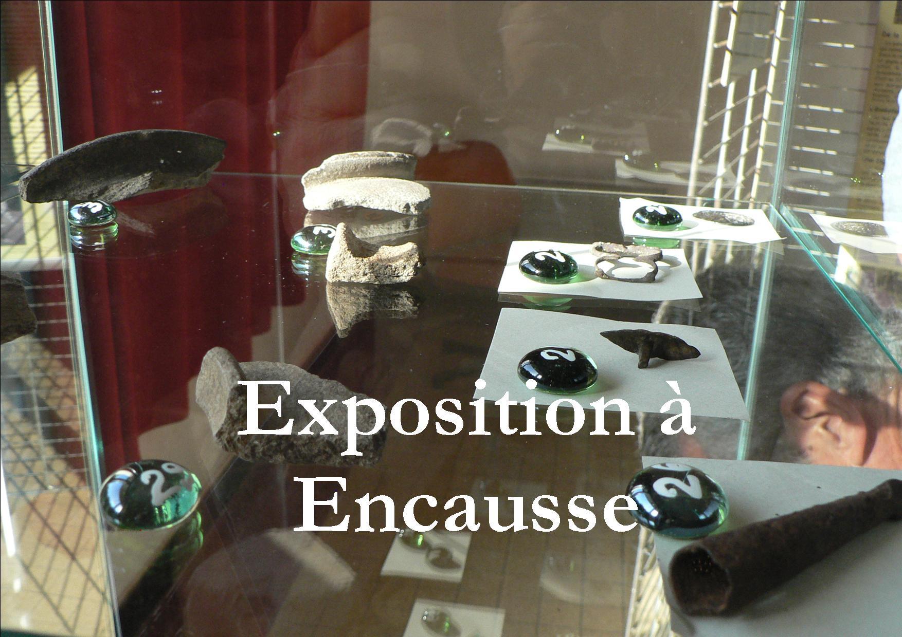 2013 Juillet : Exposition archéologique à Encausse Les Thermes