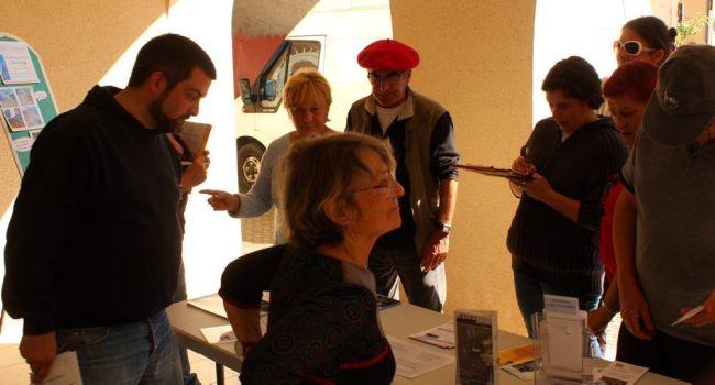 L'association des 7 Collines accueille chaleureusement les concurrents du rallye inter-Foyers ruraux. / Photo DDM, JPCl.