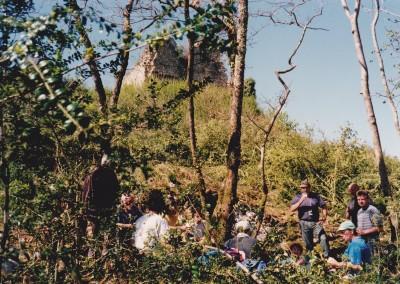 1997 : Bilan des ACTION DÉBROUSSAILLAGE au CHÂTEAU