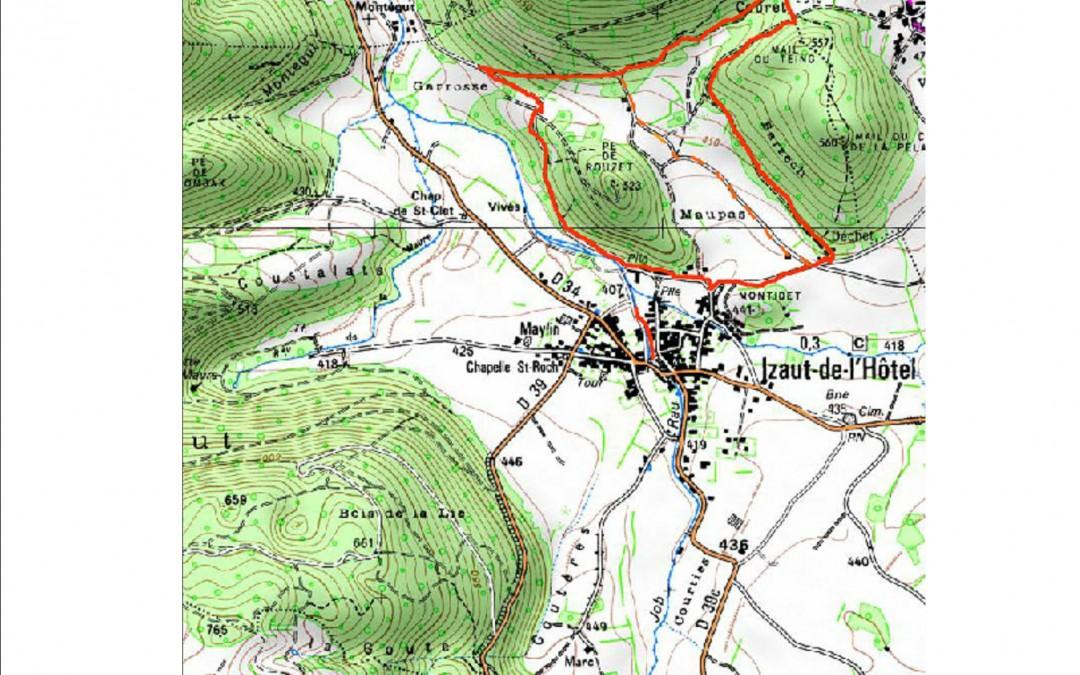 2016 Circuits des sentiers autour d'Izaut