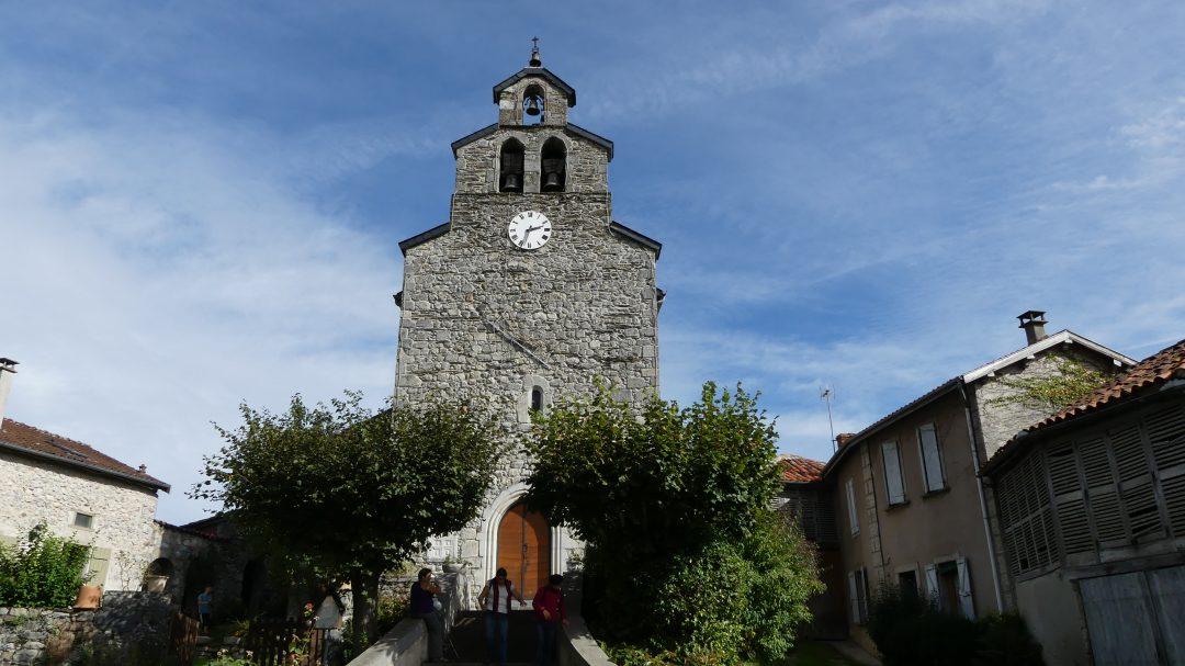 2016 Octobre : Promenade Patrimoine à Génos