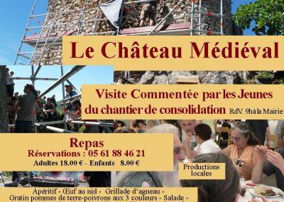 2017 Août : Journée «Izaut et son château»