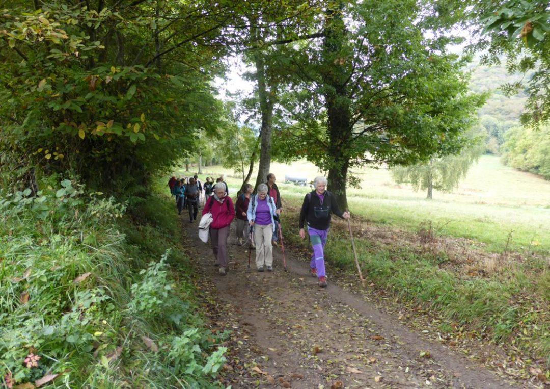 2017 Octobre : Promenade à Soueich