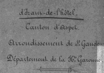 Monographie d'Izaut-de-l'Hôtel 1855